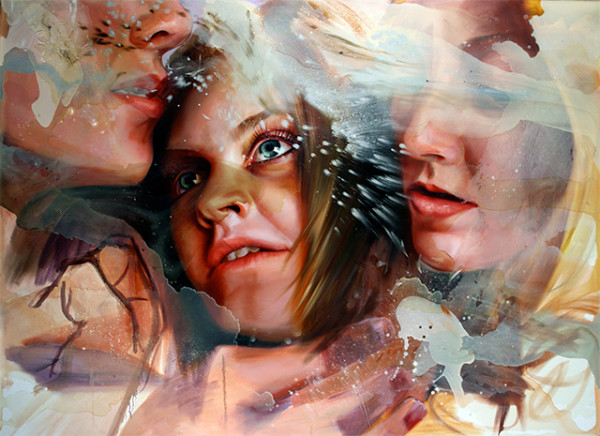 What Care Although Your Beauties Break and Fall by Angela Fraleigh