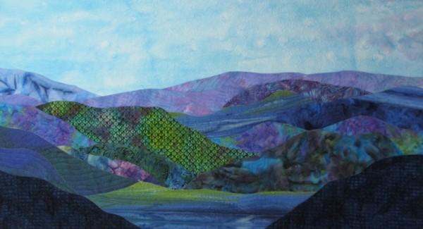 Blue Ridge Mountain Lake by Lynda Sondles