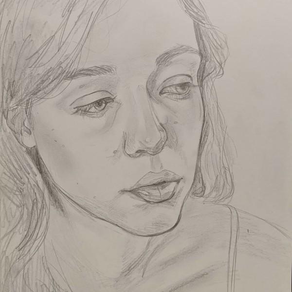 Self Portrait Sketch by Studio Philips