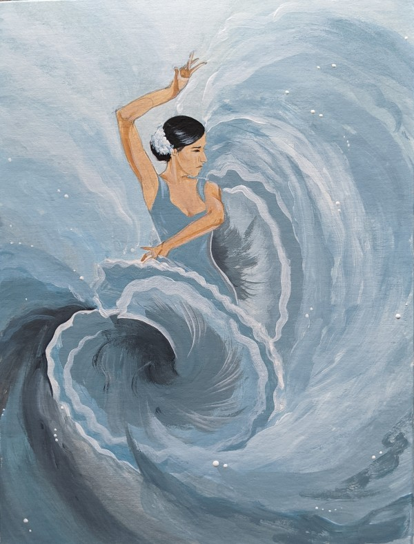 Flamenco Dancer Study by Studio Philips