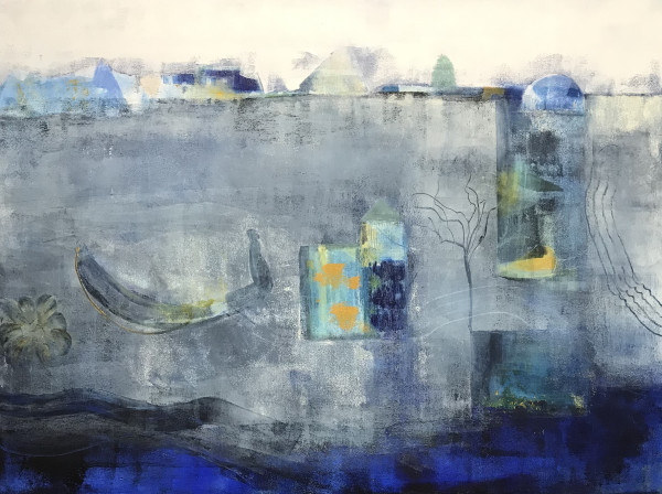 """Floating in the Blue Mist"" by Helen DeRamus"