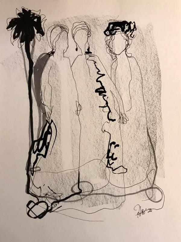 """""""Trio"""" by Helen DeRamus"""