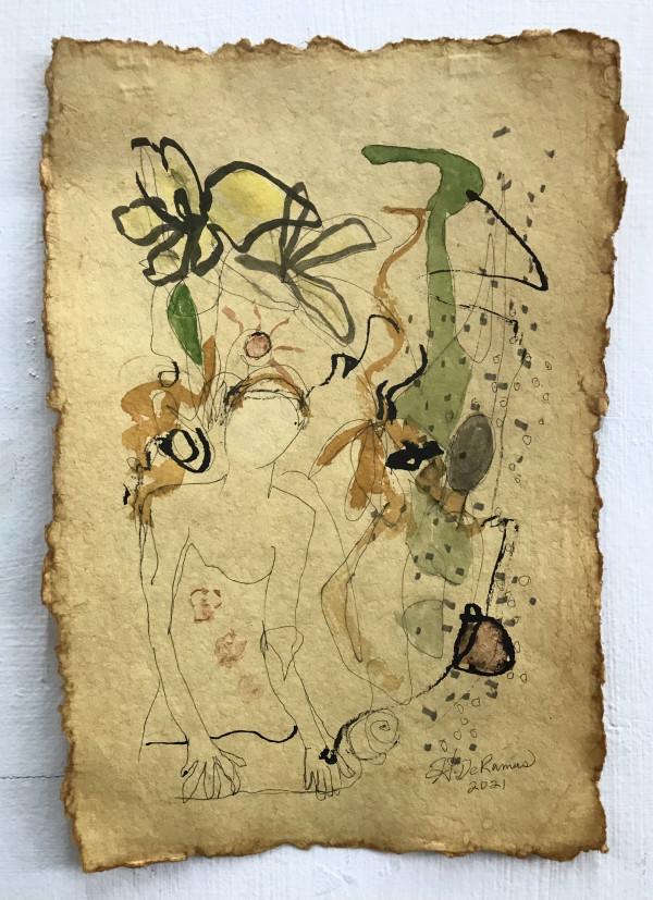 The Secret Gardener by Helen DeRamus