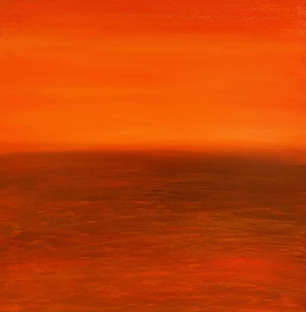 亚历克斯·威尔希特的《北冰洋日出》