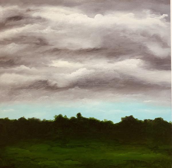 亚历克斯·威尔希特的《暴风雨下午》