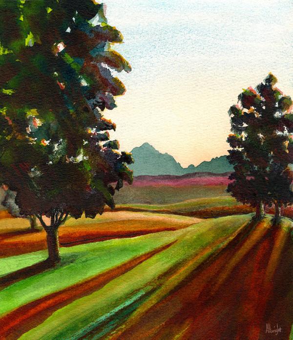 North to Mt. Stuart by Sam Albright