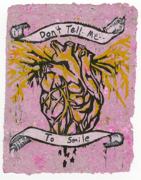 Bleeding Heart (Don't Tell Me to Smile) #8 of 13 by Nistasha Perez