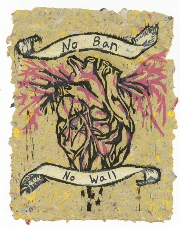 Bleeding Heart (No Ban No Wall) #4 of 13 by Nistasha Perez