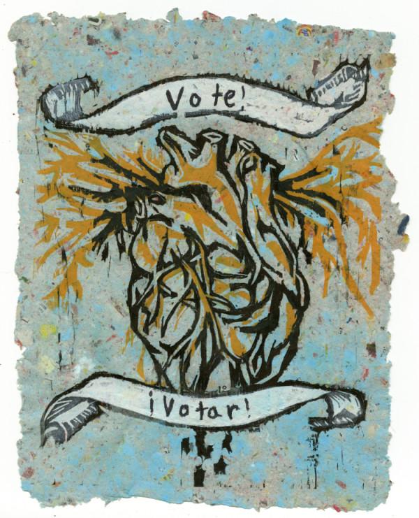 Bleeding Heart (Vote) #5 of 13 by Nistasha Perez