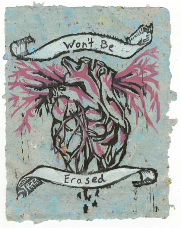 Bleeding Heart (Won't Be Erased) #6 of 13 by Nistasha Perez