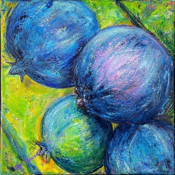 Blueberries by Teri H. Hoover