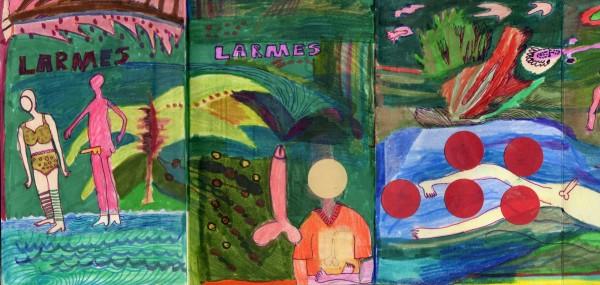 Livre LARMES by Yanieb Fabre