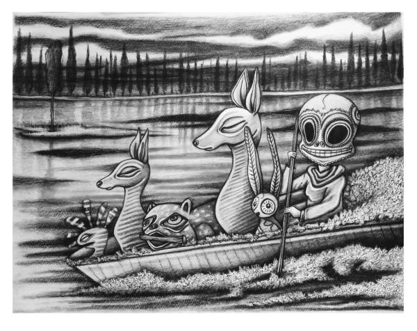 La barca by Angelica Contreras