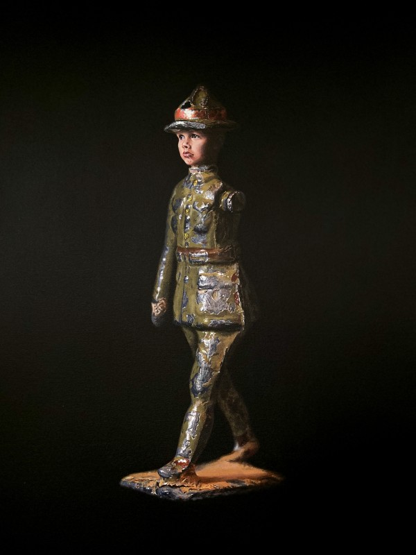 Mummy when I grow up I'm going to be a soldier by Jo Kreyl