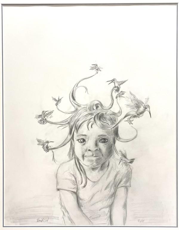 Ts'aahl Girl by Gwaai Edenshaw