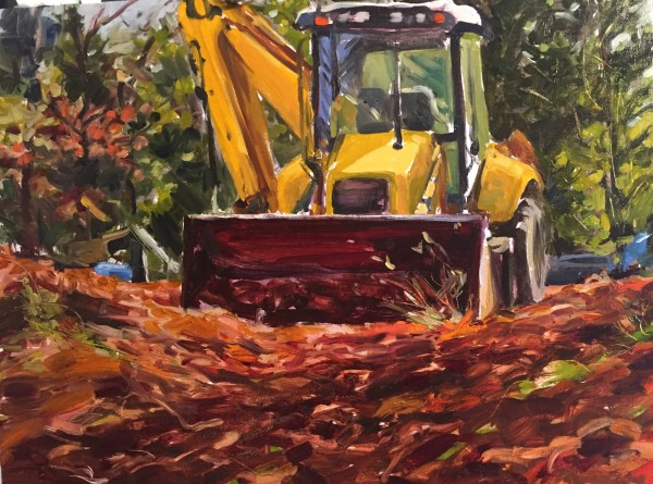 Front Loader #3 by Laurie Maher