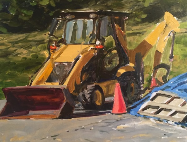 Front Loader 1 by Laurie Maher