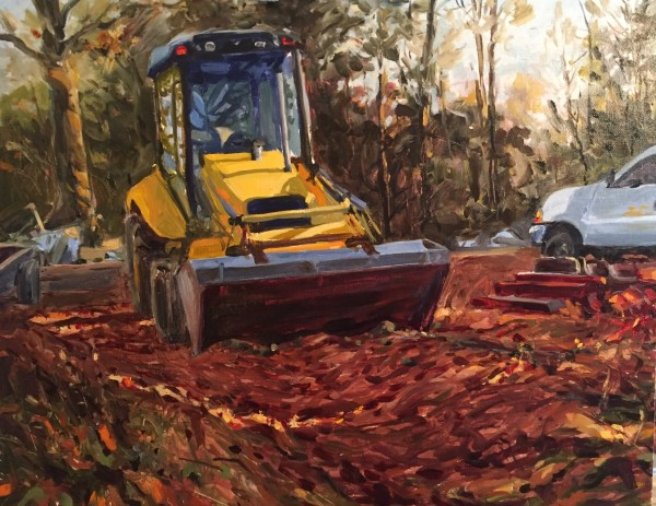 Front Loader by Laurie Maher