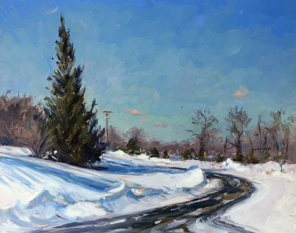 Snowdrifts by Laurie Maher