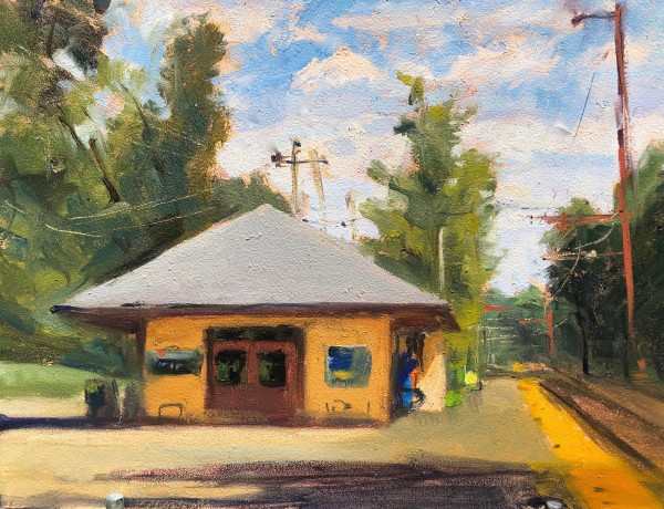 Basking Ridge Train Station by Laurie Maher