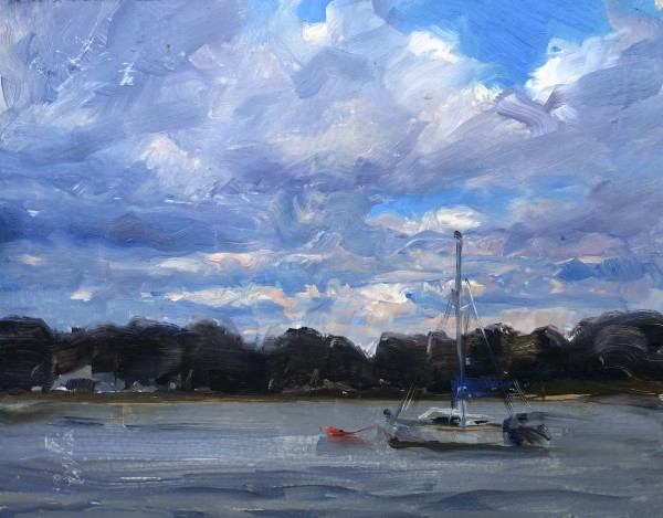 Sailboat by Laurie Maher