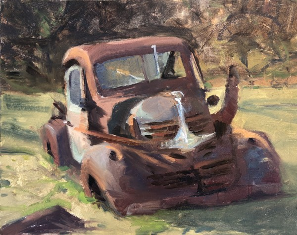 Pickup truck - Coddington Farms by Laurie Maher