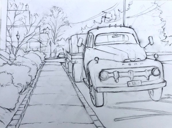 Henry Street, Basking Ridge by Laurie Maher