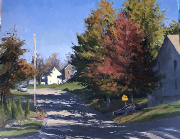 Bernards Avenue by Laurie Maher