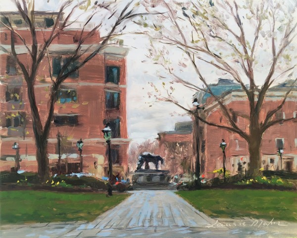 Morristown Green by Laurie Maher