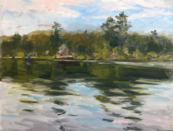 Glen Lake From Canoe by Laurie Maher