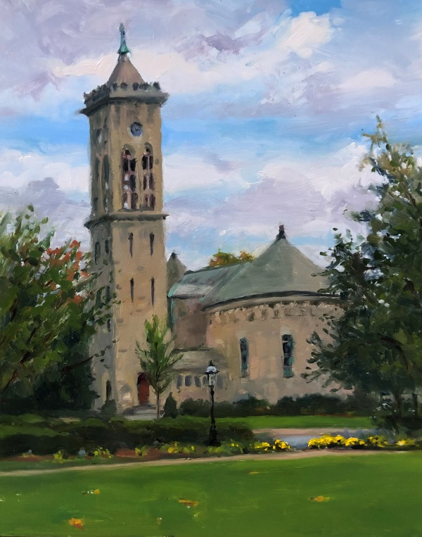 Presbyterian Church, Morristown by Laurie Maher
