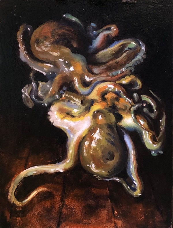 Two Octopi-After John Singer Sargent by Laurie Maher