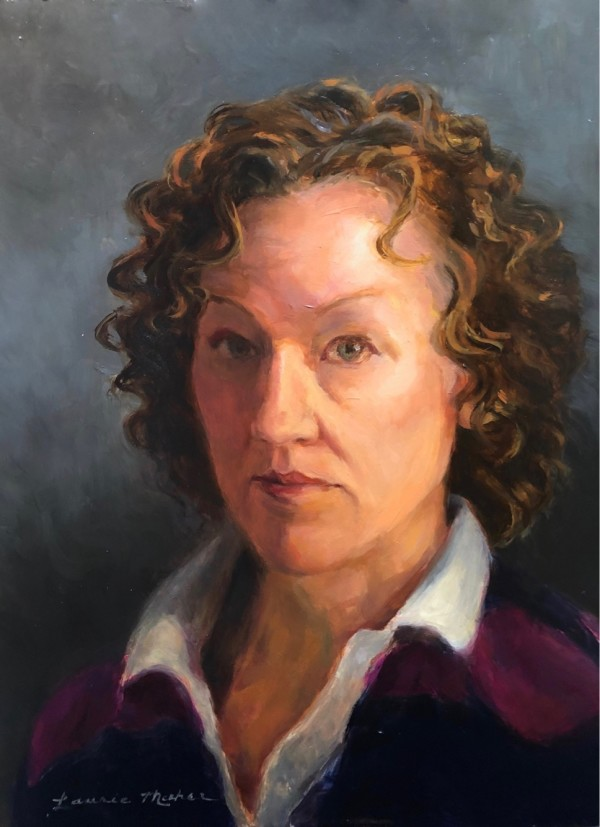 Self Portrait 1 by Laurie Maher