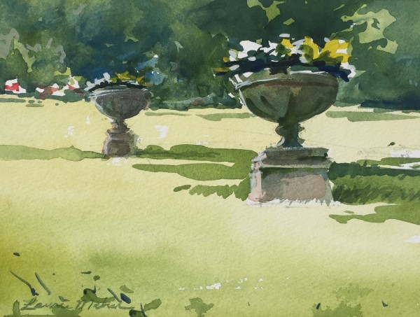Finger Lakes Flower Pots by Laurie Maher