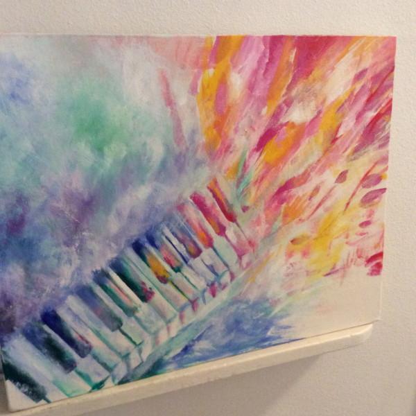 Piano 2017 by Keiko Yamada
