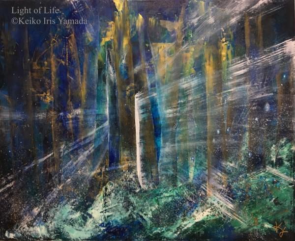 Light of Life  命の光 by Keiko Yamada