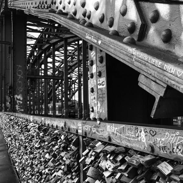 Hohenzollern Bridge #1 of 10 by Farrell Scott
