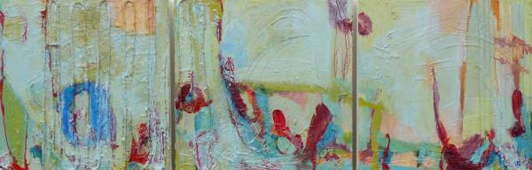 Stream Triptych by Jessica Singerman
