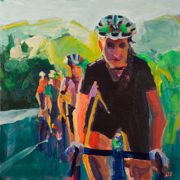 The Cyclists by Jessica Singerman
