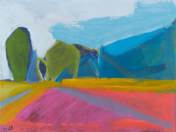 Trailhead at the farm by Jessica Singerman