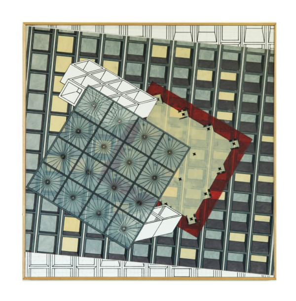 Rotated Grid by Alex Schoenberg