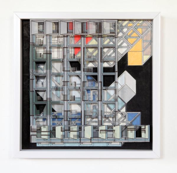 Looking Grid 3 by Alex Schoenberg