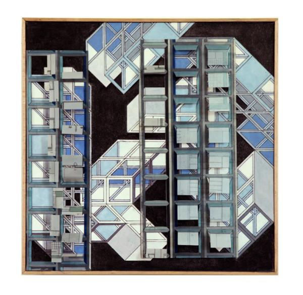 Looking Grid 4 by Alex Schoenberg