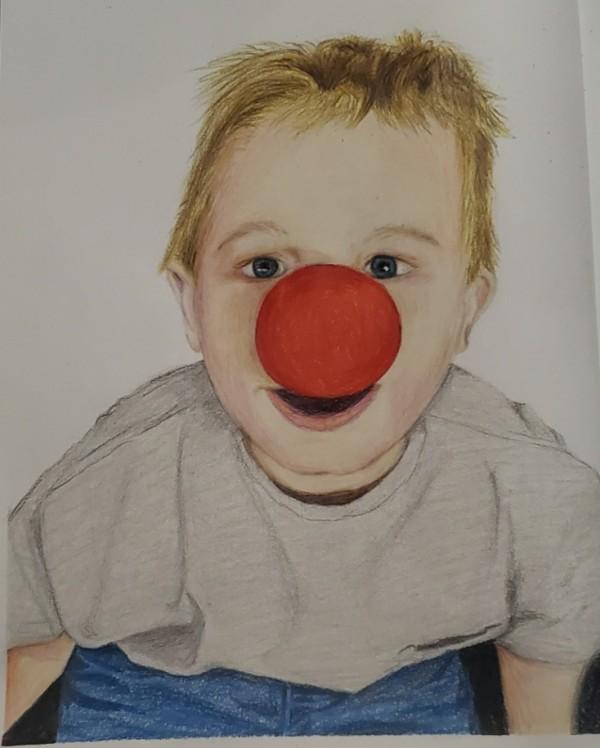 Clown Nose by Laura Sue Hartline