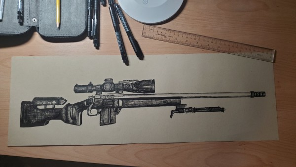 WPRSC Rifle by Laura Sue Hartline