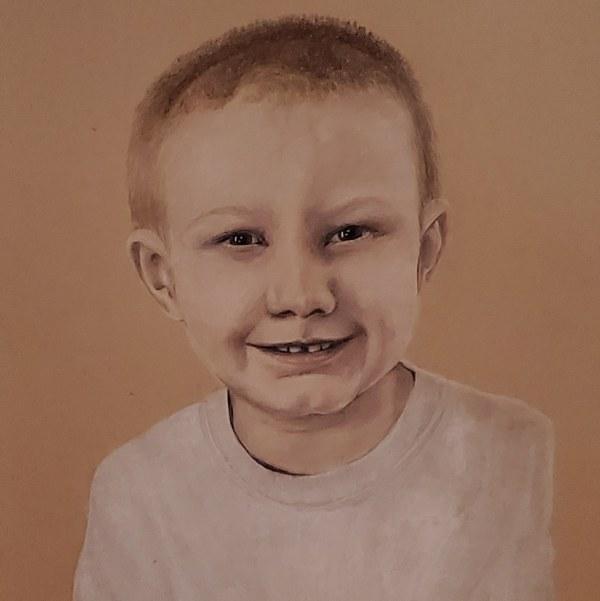Nolan at 4 by Laura Sue Hartline