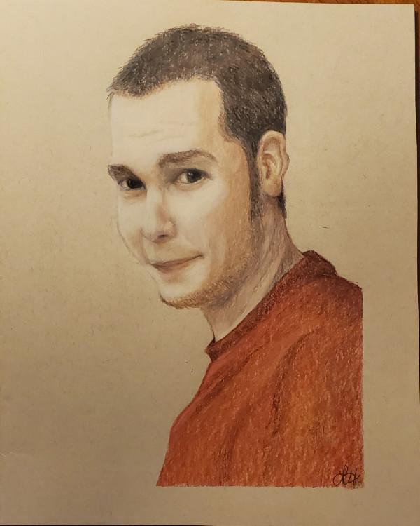 Jason Portrait by Laura Sue Hartline