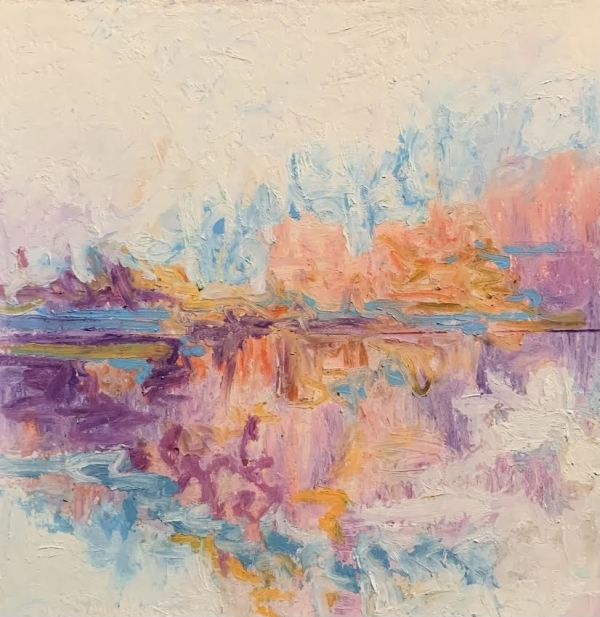 The Color of Air on the Lake No. 12