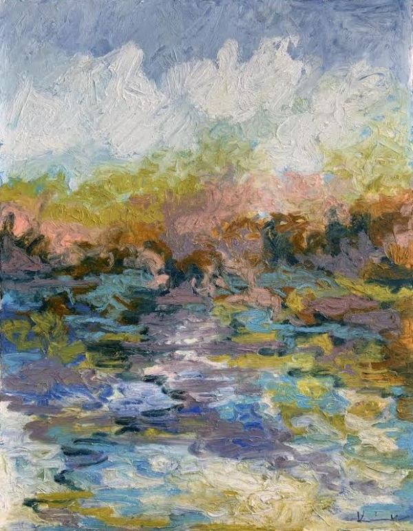 The Color of Air on the Lake No. 16