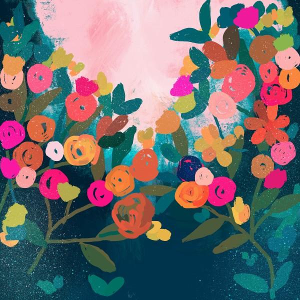 Floral Garden by Urvashi Patel